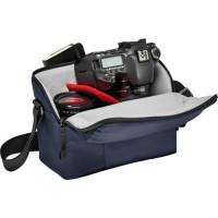 Manfrotto τσάντα ώμου NX για DSLR με επιπλέον φακό - Μπλέ [MB NX-SB-IIBU]